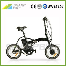 Low cost electric bike/lightning folding electric bike/mini e-bike with 3 speed