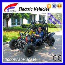 2016 New Changshun Shaft Driving 60V 3000W Electric Mini Jeep Go Kart