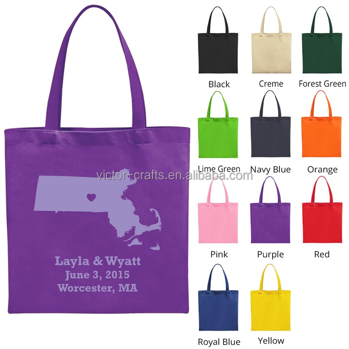 Purple canvas bag multifuntion shopping tote canvas travel bag