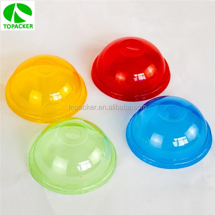 PS material plastic lids for paper coffee cup