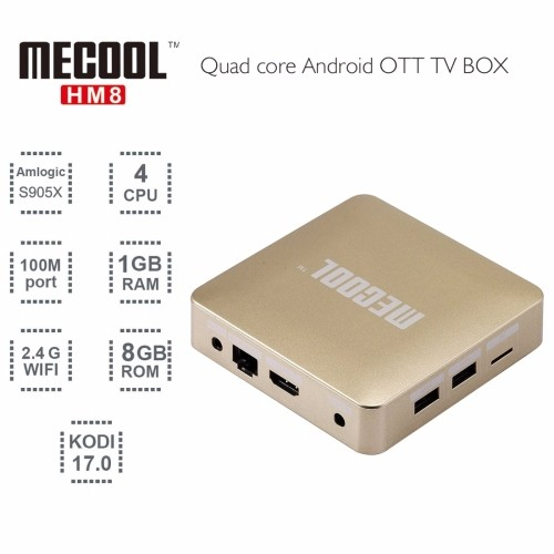 Neuheiten Wireless Smart TV Box mit Fernbedienung Android 6.0 OTA, WiFi