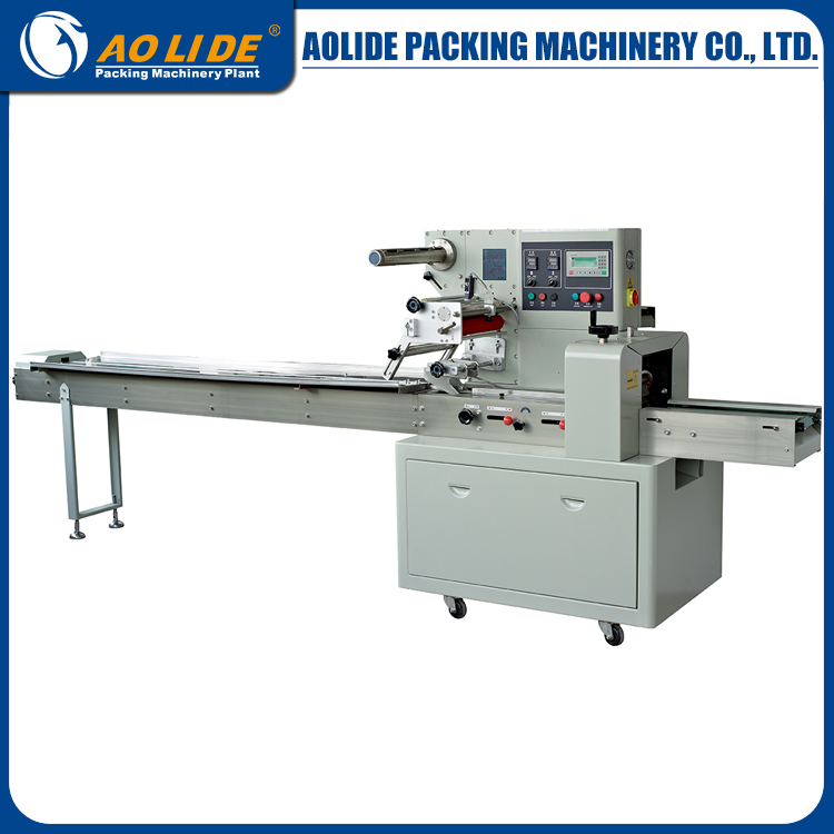 Automatic feeding fruit juice packaging machine with sealing and cutting packing machine ALD-350