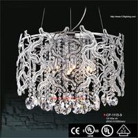 crystal decorative hanging pendant light mason jar with metal lids
