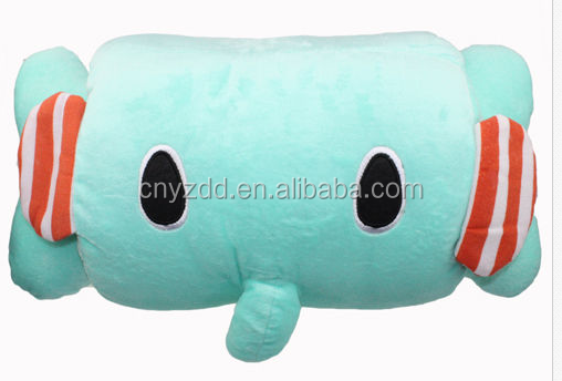 Cute ELEPHANT Warm Hand Cushion Bone Pillow Plush Toy Best Gift for Kids