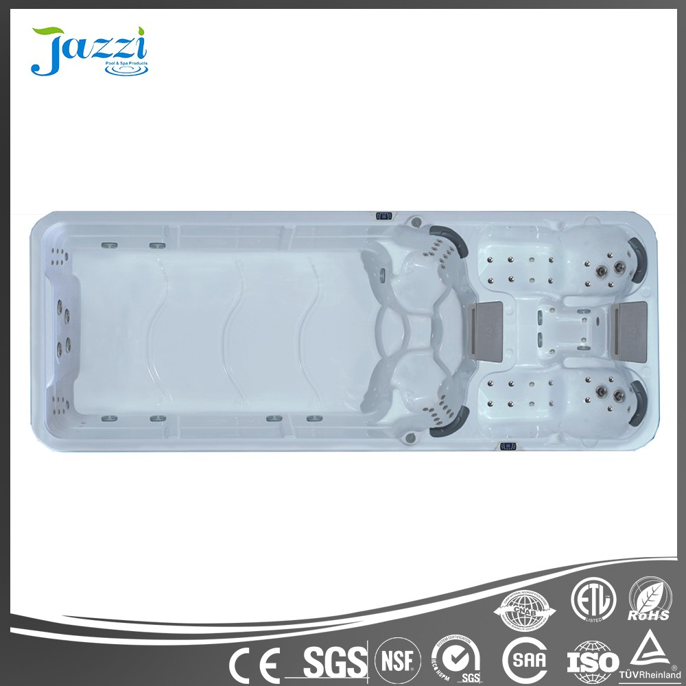 JAZZI Acrylic Outdoor Balboa Control System Freestanding Above Ground Japanese Sex Massage Swimming Pool Spa SKT339A