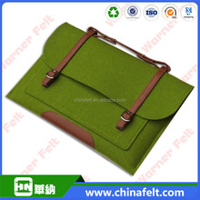 best selling and fashion eco-friendly polyester felt laptop bag