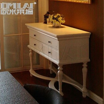 antique wooden Console tables with mirror