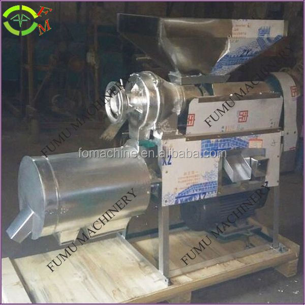 Stainless steel hand operated corn grinder