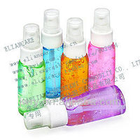 2014 new arrival 50ml antibacterial waterless scented hand sanitizer in pet bottle with lotion pump