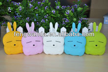Shipping Cute Rabbit 2800 mah Portable Power Bank Backup Battery Charger For Phones MP3 MP4