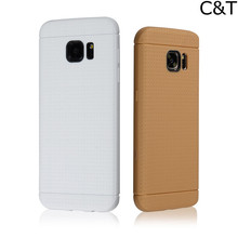 C&T Flexible Slim Silicone TPU Skin Gel Soft Protector Cover Case for Samsung Galaxy S7