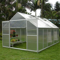 10-year warranty polycarbonate sheet greenhouse plastic cover
