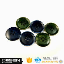 17.7mm new design big round resin 4 holes sewing button