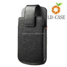 pull tab PU leather pouch cover case for Blackberry priv