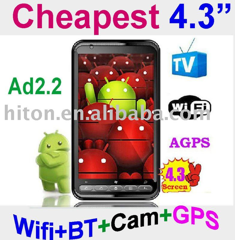 Cheapest 4.3 inch Android Phone , 4.3 inch Android Mobile phone , 4.3 inch Android Cell Phone,4.3 inch Android Cellphone