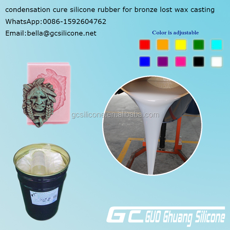 condensation rtv 2 liquid silicone rubber for mould making