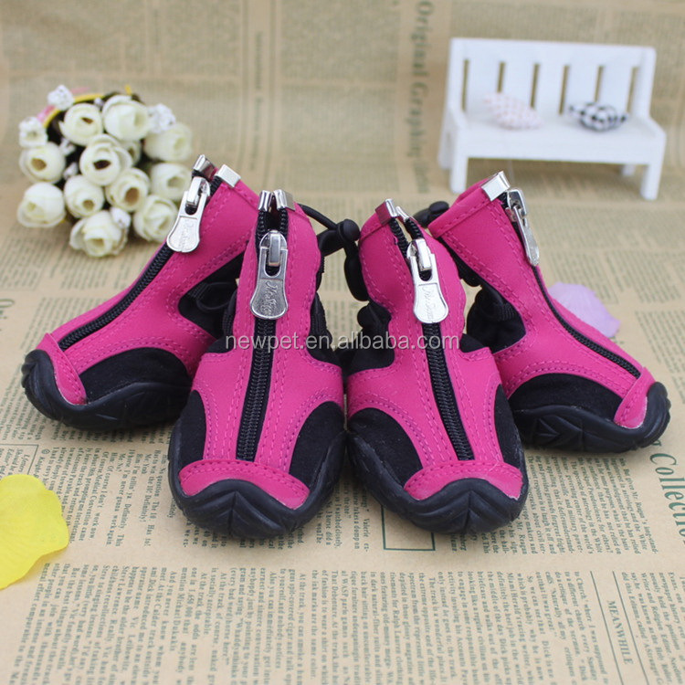 Good feature professional running pet boots china factory vinyl pet toy dog shoes