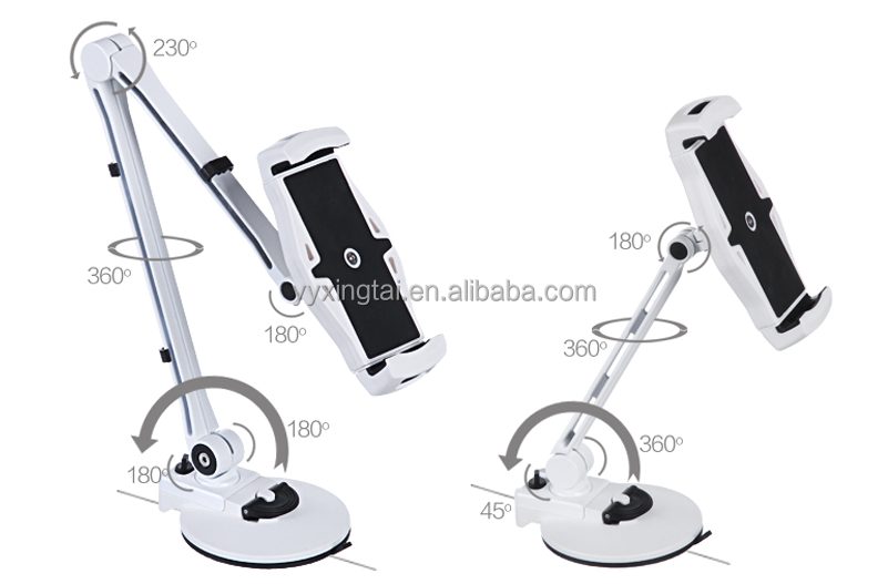 HOT promotional Gifts tablet stand, folding Aluminum Mobile phone holder