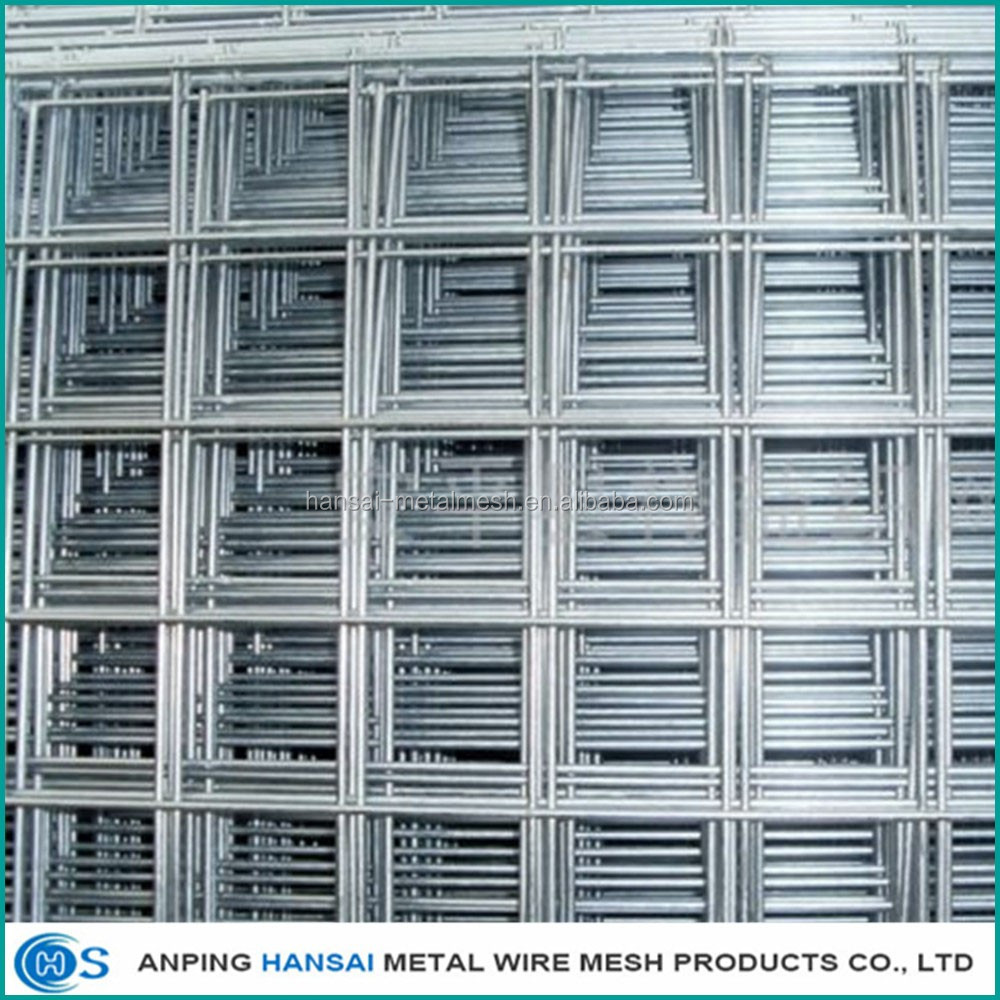 High quality 2x2 galvanized welded wire mesh for fence panel