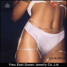 East Queen Jewelry 2017 Hot Selling Sexy Rhinestone Body Chains Jewelry