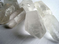 Quartz Crystals Point Cluster Specimen From Pakistan
