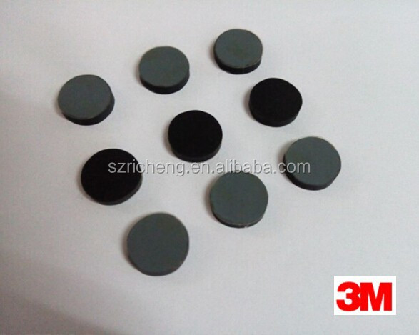 3M Adhesive Black Laptop Rubber Feet Small Round Dot, we can die cut any size