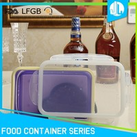 Collapsible preserving fresh kitchen silicone bbq food container