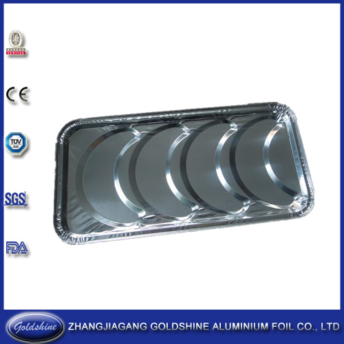 Goldshine Hot Sale Partyware aluminum foil disposable food container(SGS,FDA,BV)