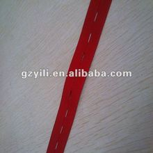 Knitted color stripe elastic
