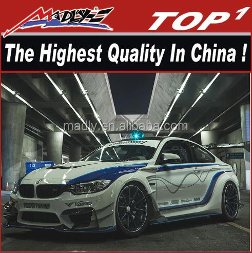 Wide body kit for 2014-2016 M4 Sport body kit MLV style for BMW wide auto part