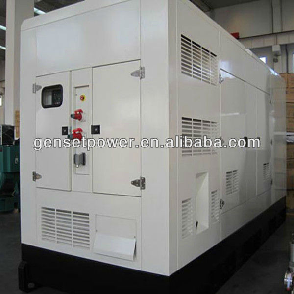 55kw to 600kw Silent Power Force Generator With Cummins Engine