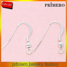 925 Sterling Silver Findings Earring Hooks Clasp Accessories For Jewelry Making Wholesale