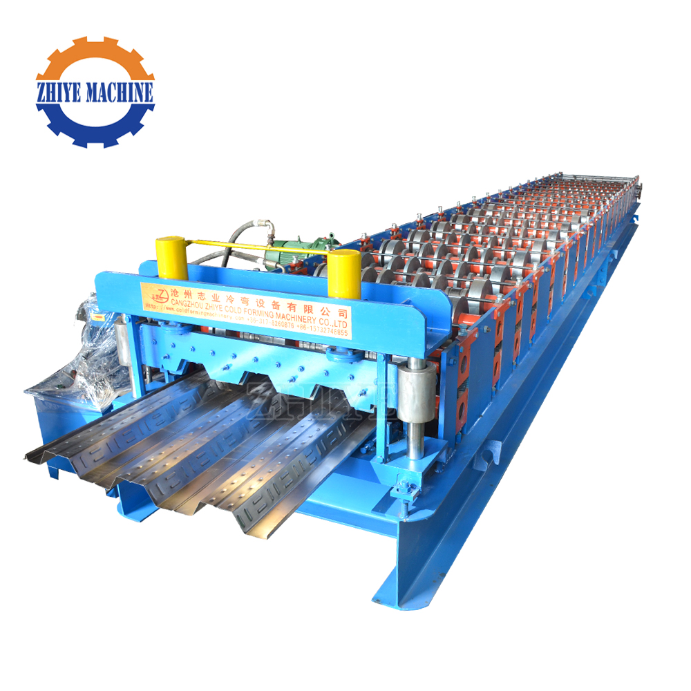 Automatic Zinc Roll Forming Machine For Metal Floor Deck