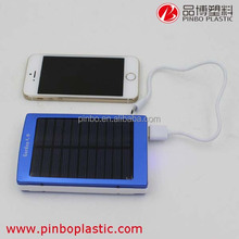 portable mobile phone charger for high capacity, 2000Mah Mini Solar phone power bank, bulk mobile power supply