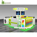 Elegance retail mobile phone repair kiosk | phone accessories display kiosk for sale