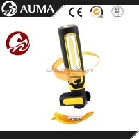 3W RECHARGEABLE MAGNETIC COB LED Portable work light with 360 degree rotating