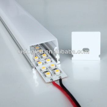High Quality Milky Cover Line led light aluminum casing