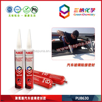 PU8630 Waterproof Non-toxic Glass Silicone Sealant