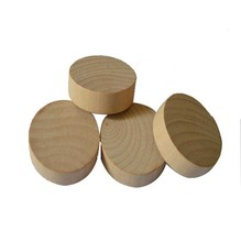Unfinished Round Wood Circle and Wooden Disc Cut Outs for different kinds diy project