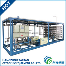 Cryogenic Liquid Natural Gas LNG Filling Station Equipment Skid