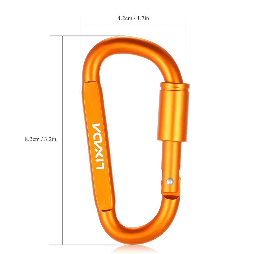 Back To Search Resultssports & Entertainment Climbing Accessories Lixada Aluminum Climbing Carabiner D-ring Key Chain Clip Outdoor Camping Keyring Snap Hook Water Bottle Buckle Travel Kit Tools