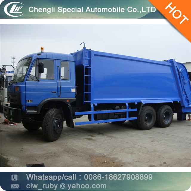 big Dongfeng 6*4 Compression Dustcart garbage truck compressive garbage truck