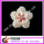 2017 Vintage crystal rhinetsone flower brooch for wedding invitations