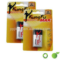 dry battery manufacturers Zinc carbon battery 9v battery 6f22