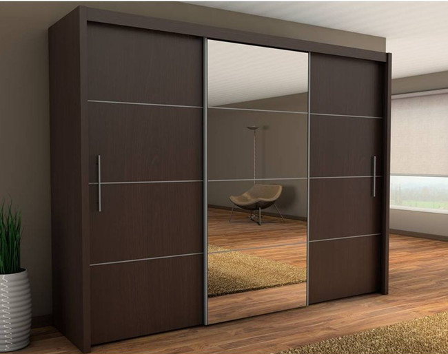 wooden aluminium wardrobe designs ,bedroom wardrobe sliding mirror doors