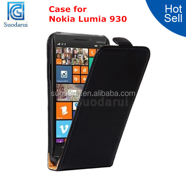 Mix Color for Nokia Lumia 930 Super Slim Leather Flip Cover Magnetic Case