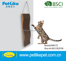 Premium design cat furniture hanging cat scratching pad