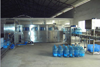 Manual bottle washing filling and capping machine