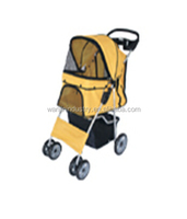 quality fabric pet dog stroller for traveling WJ02