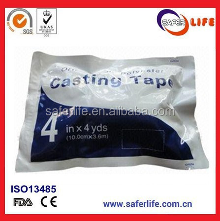 Saferlife Sast Professional Orthopedic Fiberglass Casting Tape with High Quality